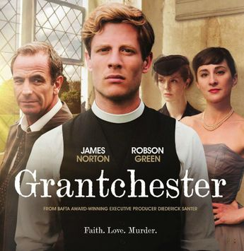"""Poster for """"Grantchester"""""""