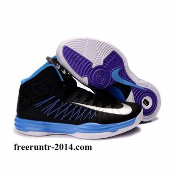 sports shoes 5eb77 0ff73 Blue and purple nike basketball shoes just perfect Im in love❤ ❤ ❤