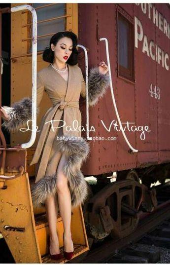 New dress vintage style coats Ideas #dress
