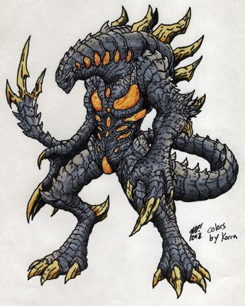 Nemesis for Kaiju combat! by MrKorra.deviantart.com on @deviantART