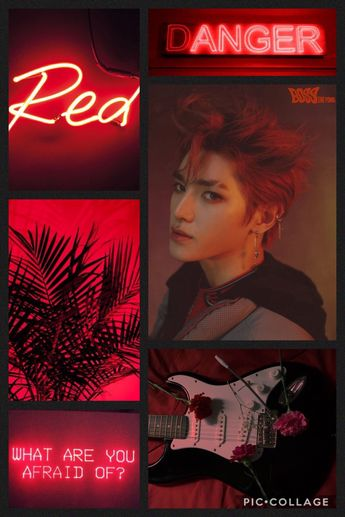Taeyong Wallpaper Taeyong Nct Neon Aesthetic Wallpap
