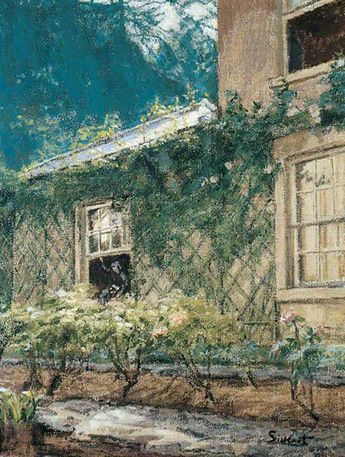 The Open Window  -  Walter Richard Sickert  1939 (British 1860-1942).  Cozyhuarique
