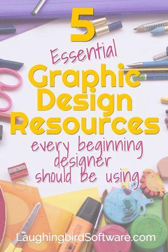 Graphic Design Resources for Beginning Designers