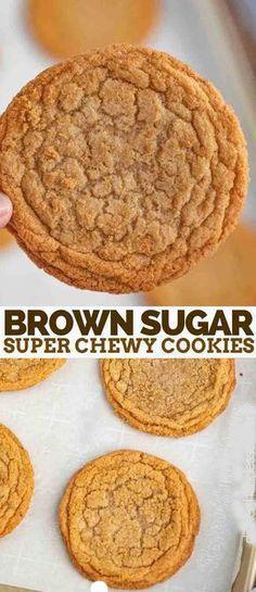 Brown Sugar Cookies #desserts #cookies