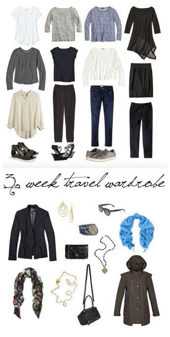 Travel Wardrobe Planning For 3 Weeks In Europe