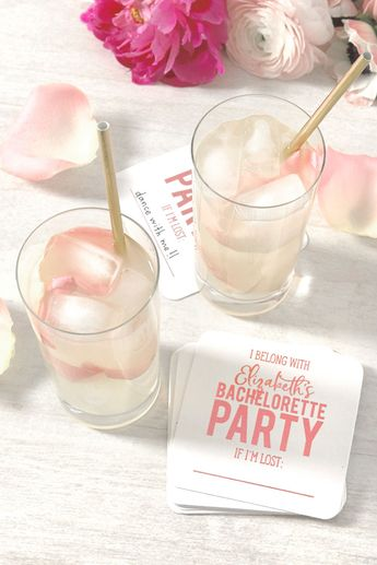 Customized Bachelorette Coasters #foryourparty #bachelorette #partycoasters #bacheloretteparty
