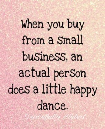 ♥ Supporting Small Businesses!