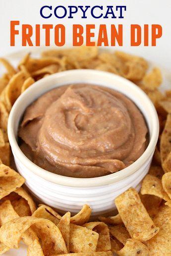 Copycat Frito Bean Dip