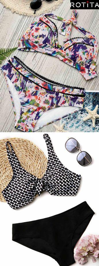 Que vous souhaitiez ajouter du punch ou célébrer votre forme naturelle! Bikinis pour votre choix.Parfait avec des sandales pour aller à la plage.