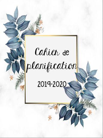 Guide de planification : 2019-2020