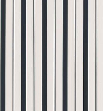 Stripes Black Varied Stripe Wallpaper
