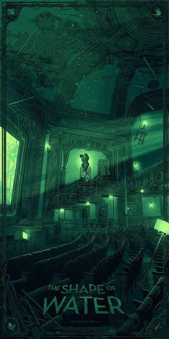 The Shape of Water (2017) [512 X 1024]