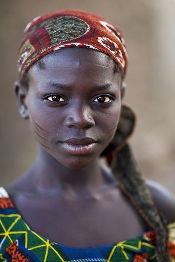 Taneka-Beri scars - Benin