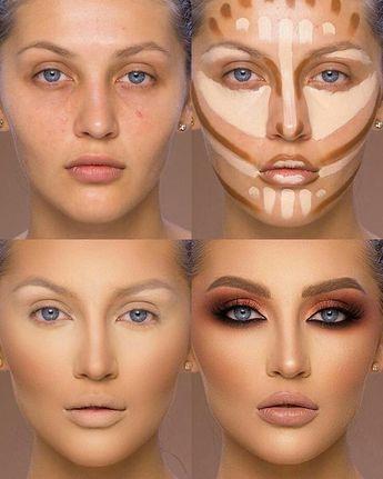 #makeup #beauty #hilighter #contouring #style #eyeshadow #concealer  #makeuptutorial  #blue #insta #fashion #mode #stepbystepmakeup  #Tunisia #tips #lipsticks #makeuplovers #makeupholic