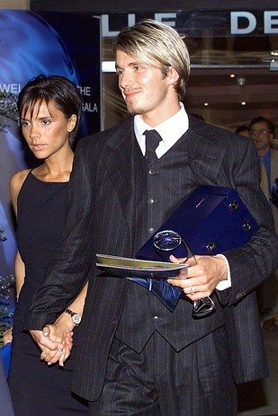 David Beckham and Victoria Beckham, married since 1999.   27 Celebrity Couples Who Prove Love Can Last A Lifetime