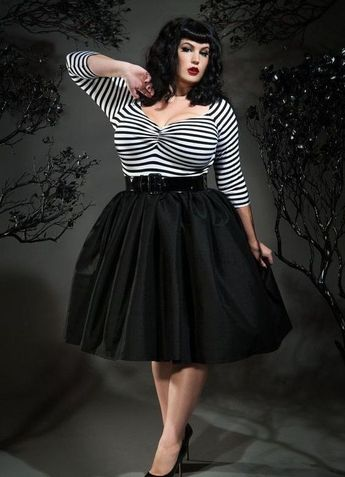 40+ Ways To Wear Black Outfits For Plus Size 9