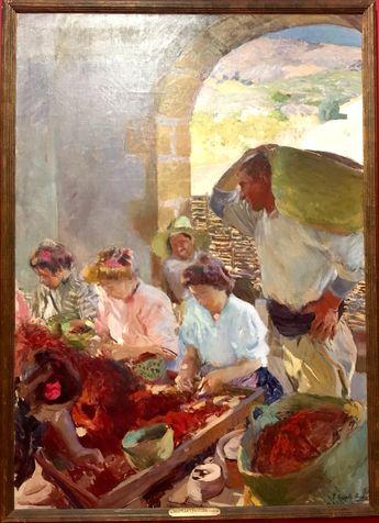 Exposition éphémère des œuvres de  Sorolla à la Fondation Monet de Giverny.