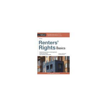 Renters' Rights : The Basics (Paperback) (Janet Portman & Marcia Stewart)