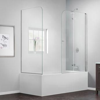 """Aqua Fold 36"""" x 58"""" Folding Tub Door"""
