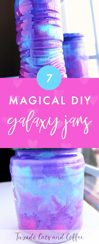 7 DIY Galaxy Jars That Are Out of This World