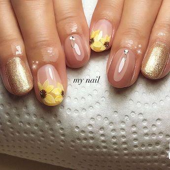 #nail #gelnail #naildesign #nailstyle #nailfashion #nails #gelnails #beauty #nailart...  #nail #gelnail #naildesign #nailstyle #nailfashion #nails #gelnails #beauty #nailart #instagood #instabeauty #instanice #美甲 #네일스타그램 #네일 #젤네일 #ネイル #ネイルアート #ネイルデザイン #ジェルネイル #ひまわり
