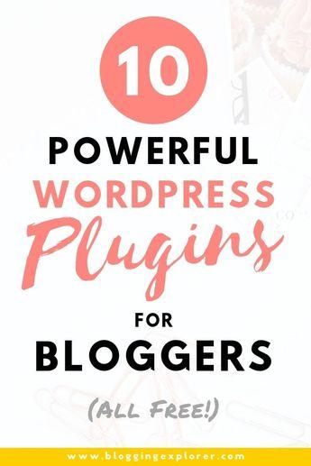 10 Best WordPress Plugins for Blogs (All FREE)