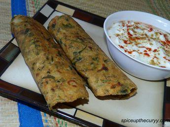 Methi paratha recipe (How to make methi paratha)