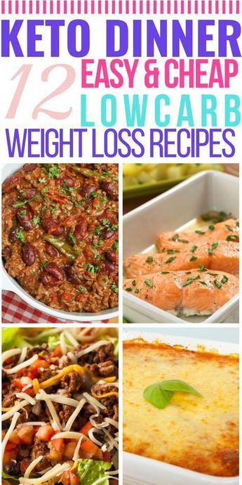 Easy Keto Dinner Recipes! 12 Last Minute Keto Diet Recipes (Low Carb & Fast