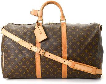 8fc6c7d2118d Louis Vuitton Keepall 50 Bandouliere Travel Bag - Vintage