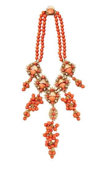 Stanley Hagler Floral Necklace by House of Lavande for Preorder on Moda Operandi