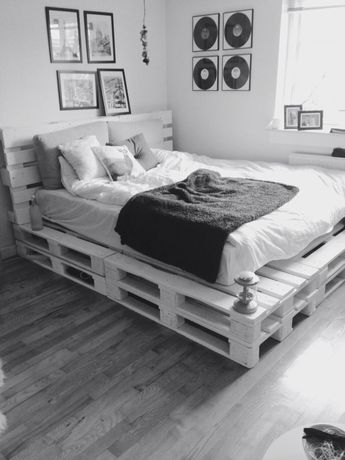 51 DIY Pallet For Bed Place For Your Idea