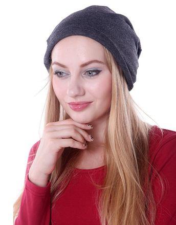 Unisex Double Layer Slouchy Baggy Warm Winter Fashion Beanie Skully Hat -  Dark Gray - CL11HQ2XR43 8b5ec32c09e6