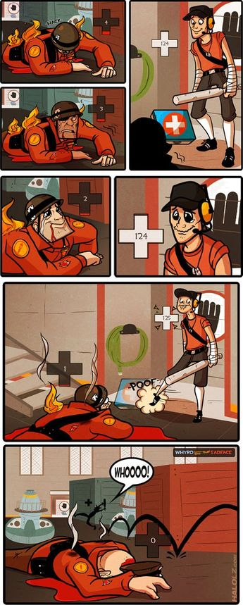 tf2 medic x scout Ideas and Images | Pikef