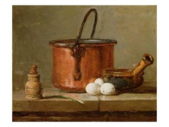 Still Life, C.1732 (Oil on Panel) Giclee Print by Jean-Baptiste Simeon Chardin