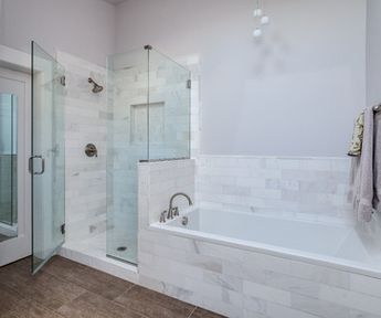 White Shaker Style Bathroom Renovation Project Denver Colorado - modern - Bathroom - Denver - JM Kitchen & Bath