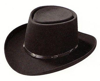 8460b01b9dcfd Stetson Royal Flush Gun Club Hat-Black-71 4