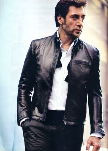 Javier Bardem photographed by Nathaniel Goldberg for GQ