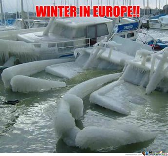 WINTER IN EUROPE!!