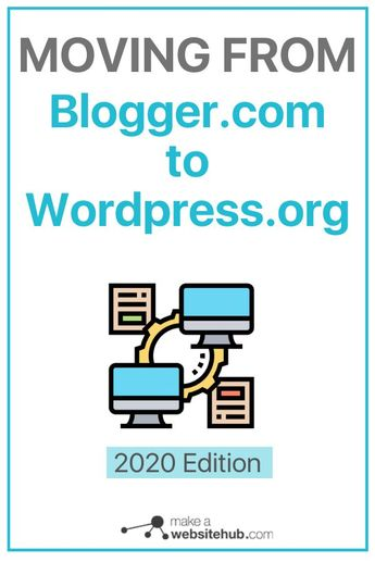 """""""Moving from Blogger.com to WordPress.org is just a switch away """""""
