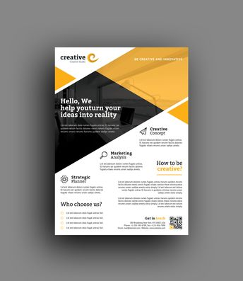 Honolulu Professional Business Flyer Template - Graphic Templates