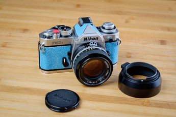 Nikon FM3a stingray finish