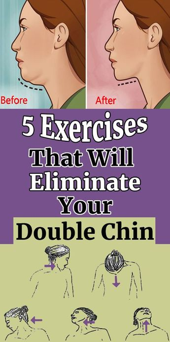 5 Exercises That Will Eliminate Your Double Chin