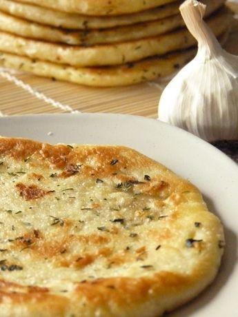 Naans ail coriandre #recette #pain #faitmaison #naan #facile