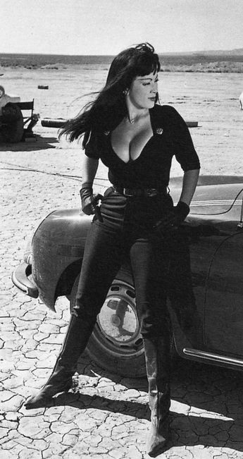 Tura Satana in 'Faster, Pussycat! Kill! Kill!', 1965.