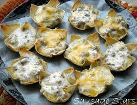 Ranch Sausage Stars - The Perfect Party Appetizer