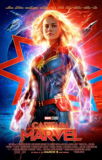 """Details about Captain Marvel ( 11"""" x 17"""" ) Movie Collector's Poster Print ( T2) - B2G1F"""