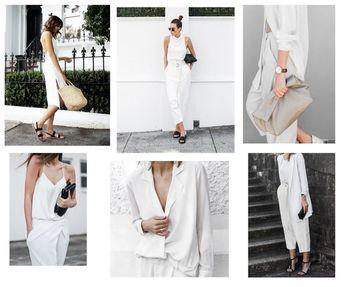 Stylish minimalist looks for summer