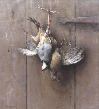Sarah Lamb - Hanging Pheasant Hen and Chukkar