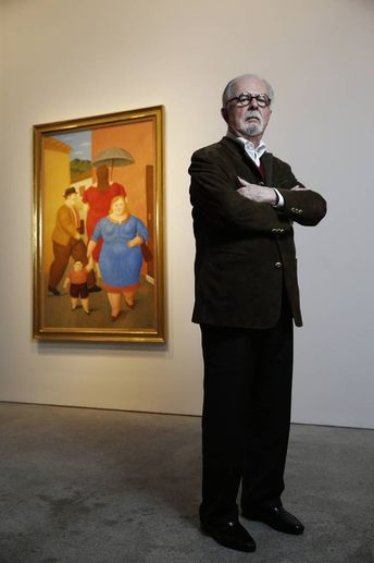 """""""Soy el pintor vivo que más ha expuesto en el mundo. Hasta los niños chicos reconocen un 'botero"""""""