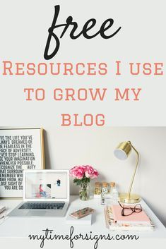Free Blogging Resources - My Time For Signs- The Blog